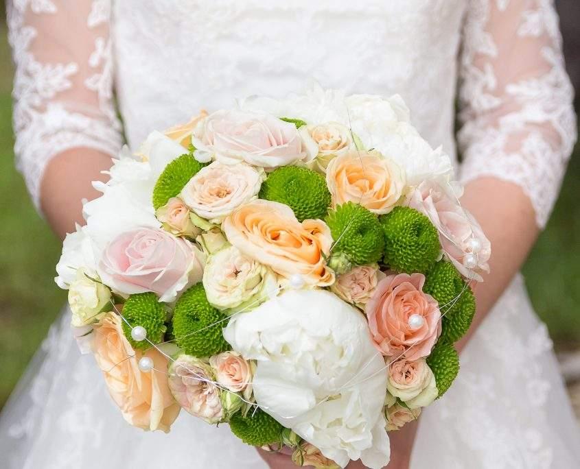 schlichter Brautstrauß