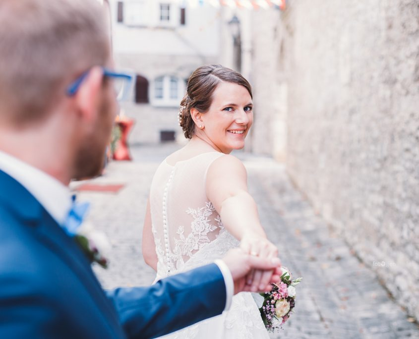 Hochzeitsshooting in der Altstadt